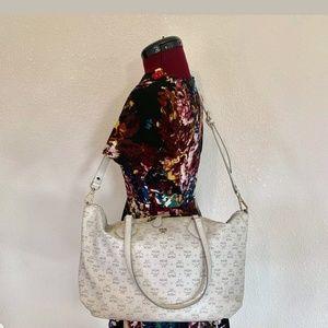 MCM White Shoulder/Crossbody Bag Authentic